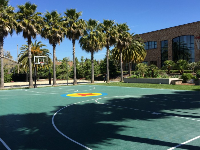PIXAR Basketball Courts