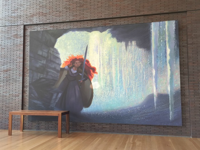 PIXAR Headquarter Merida Mural