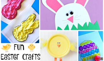 Over 25 Fun Easter Crafts for Kids