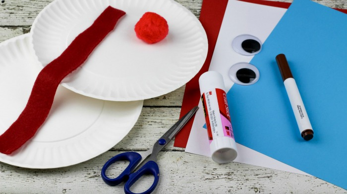 Pirate Paper Plate Craft Supplies