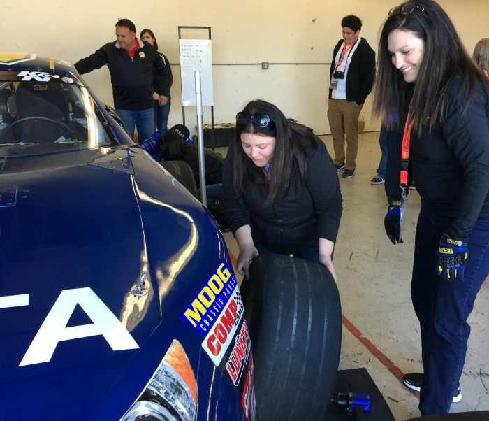 Sonoma Raceway Pit Stop Challenge Tire Changing