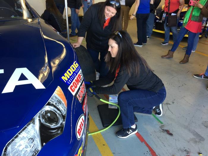 Sonoma Raceway Pit Stop Challenge