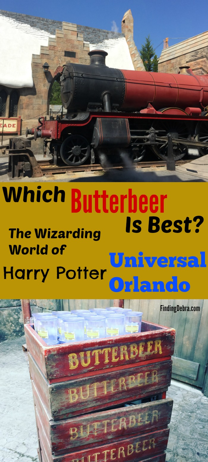 Which Butterbeer is Best - Universal Orlando The Wizarding World of Harry Potter