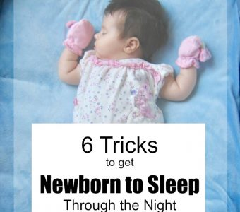 6 Tricks to Get Newborn to Sleep Through the Night (and Mom too)