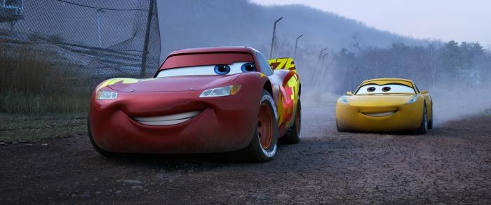 Cars 3 Lightening McQueen and Cruz Ramirez
