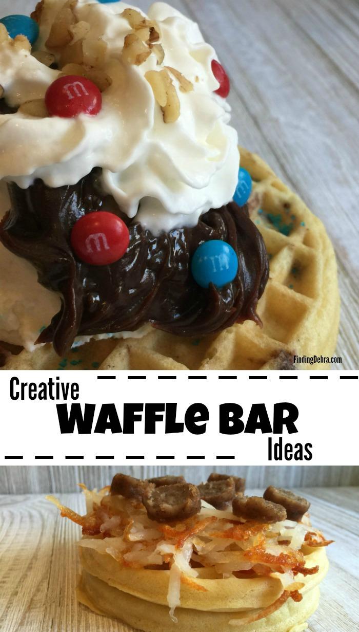 Creative Waffle Bar Ideas