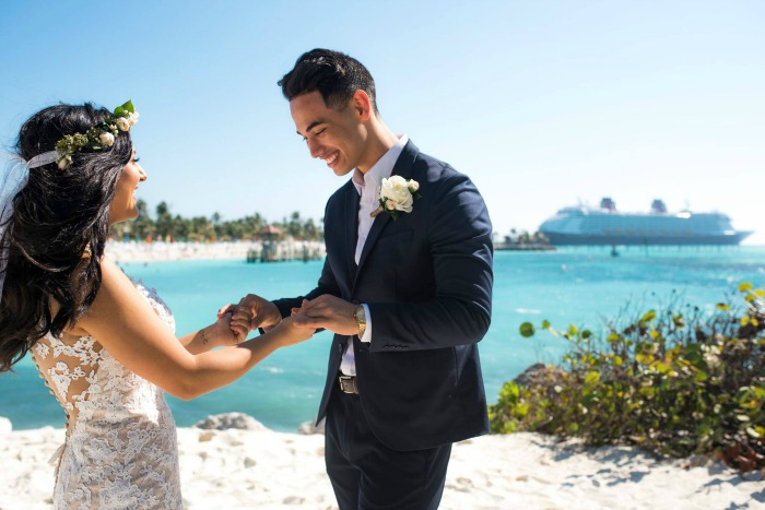 Disney's Fairy Tale Weddings Castaway Cay