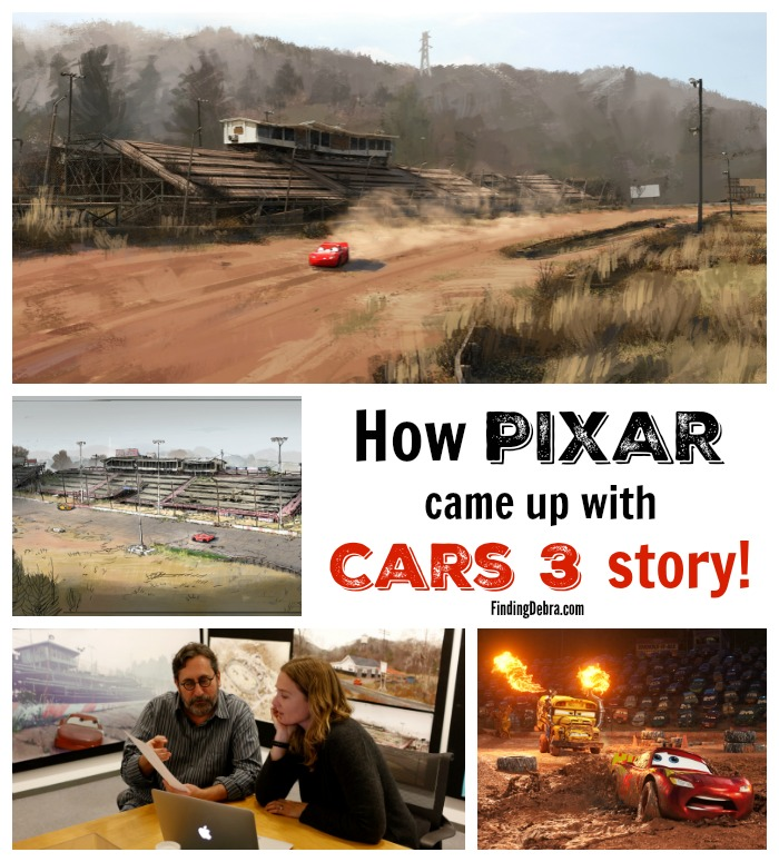 How PIXAR Came Up with Cars 3 Story