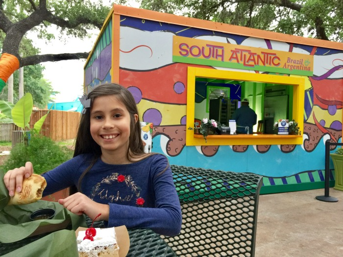 Is the Seven Seas Food and Wine Festival Child Friendly