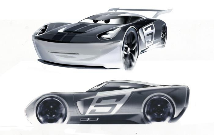 Jackson Storm Cars 3
