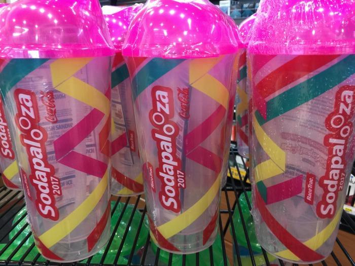 Sodapalooza 2017 cups