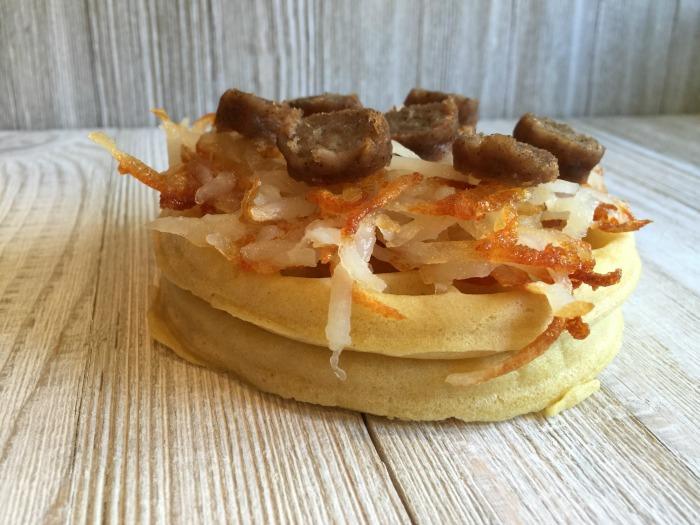 Waffle Breakfast Pizza