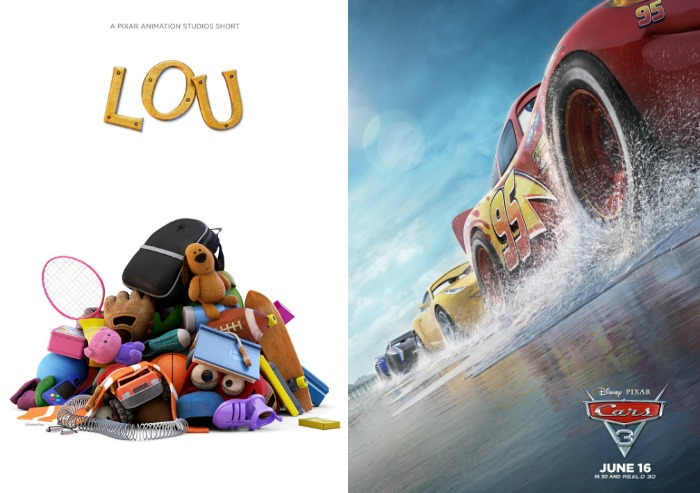 PIXAR Short LOU, Races to Theaters Today with Cars 3