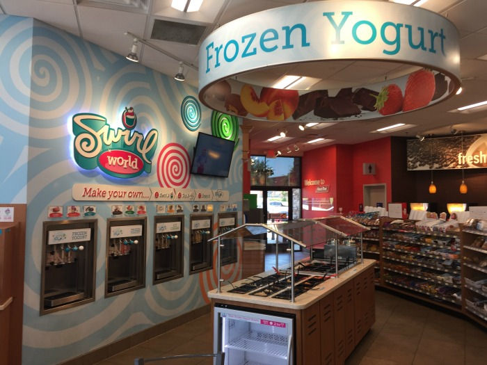RaceTrac Swirl World Frozen Treats