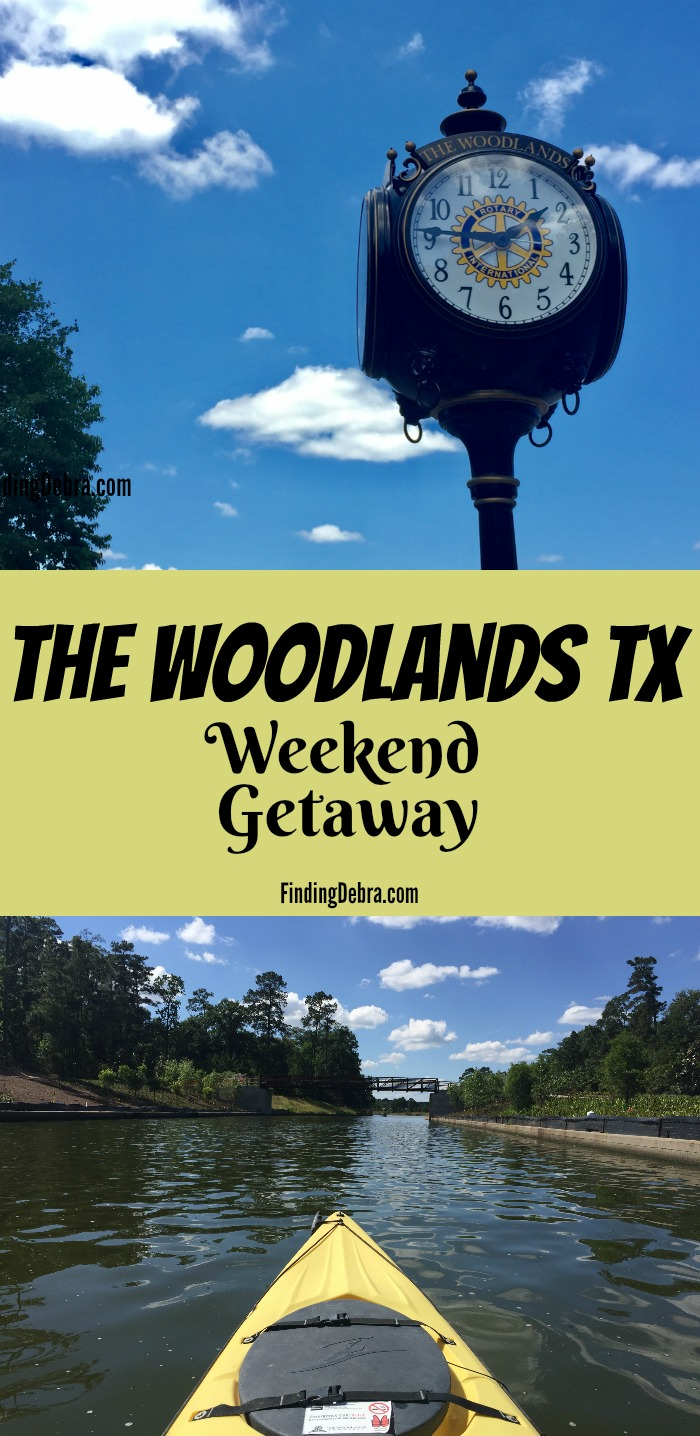 The Woodlands TX A Weekend Getaway