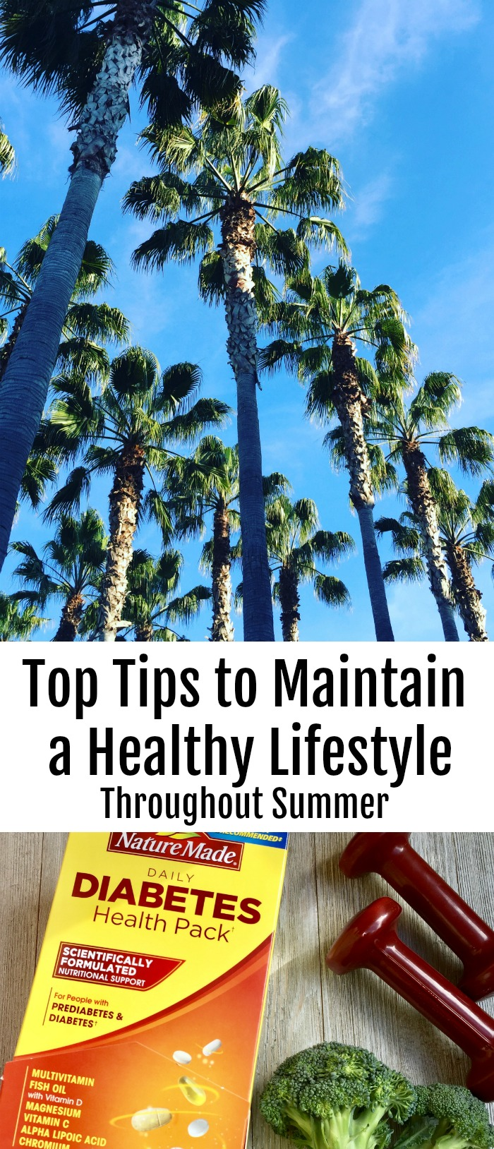 Top Tips to Maintain a Healthy Lifestyle Throughout Summer