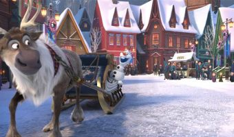 Olaf's Frozen Adventure in Theaters THIS YEAR!