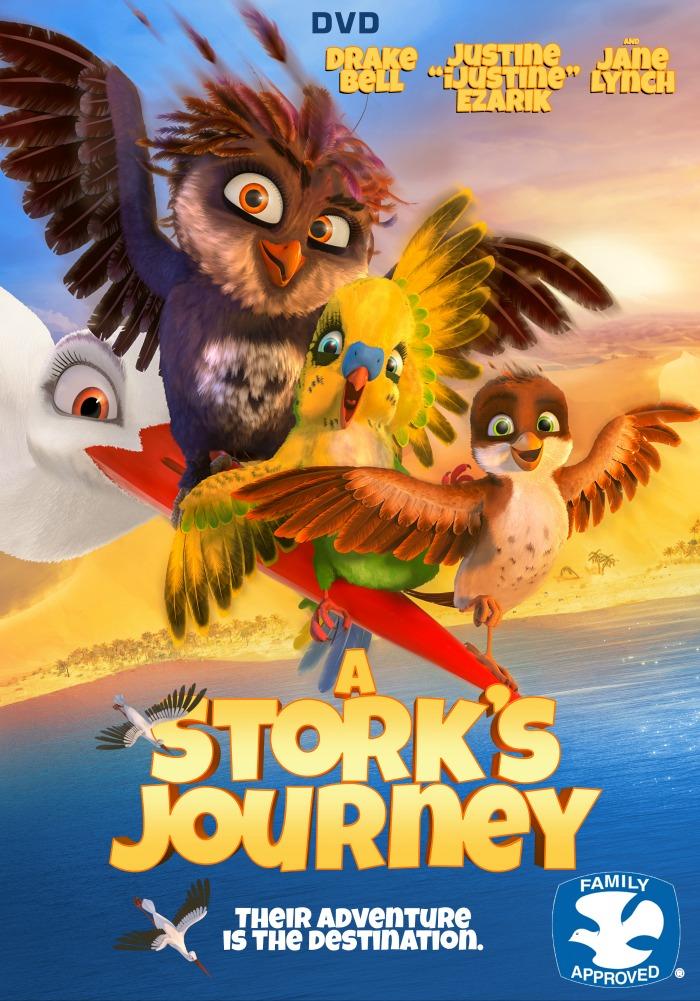 A STORKS JOURNEY DVD