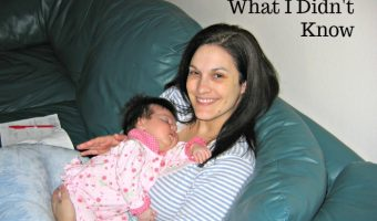 Breastfeeding what I didn't know