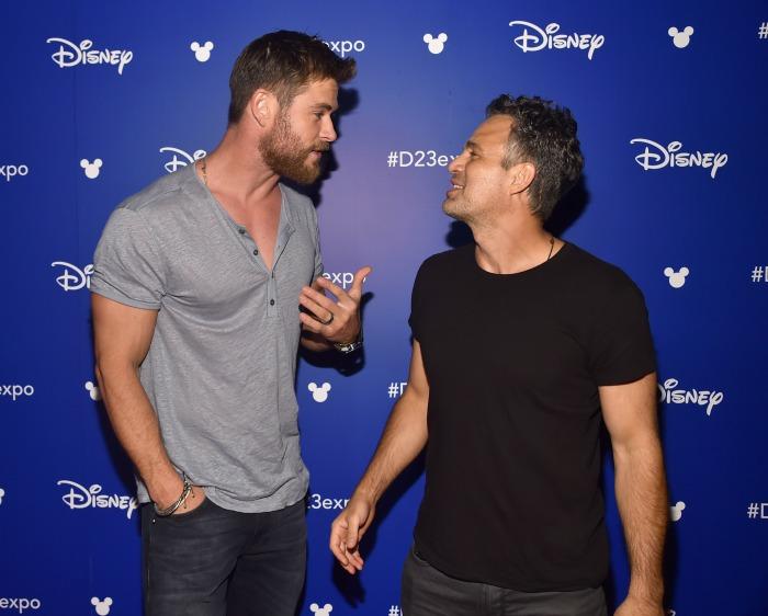 Chris Hemsworth at D23