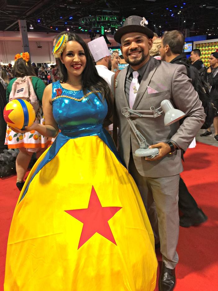 D23 Expo Pixar Ball costume