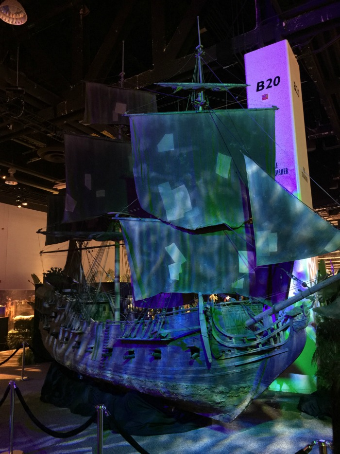 D23 Expo The Black Pearl