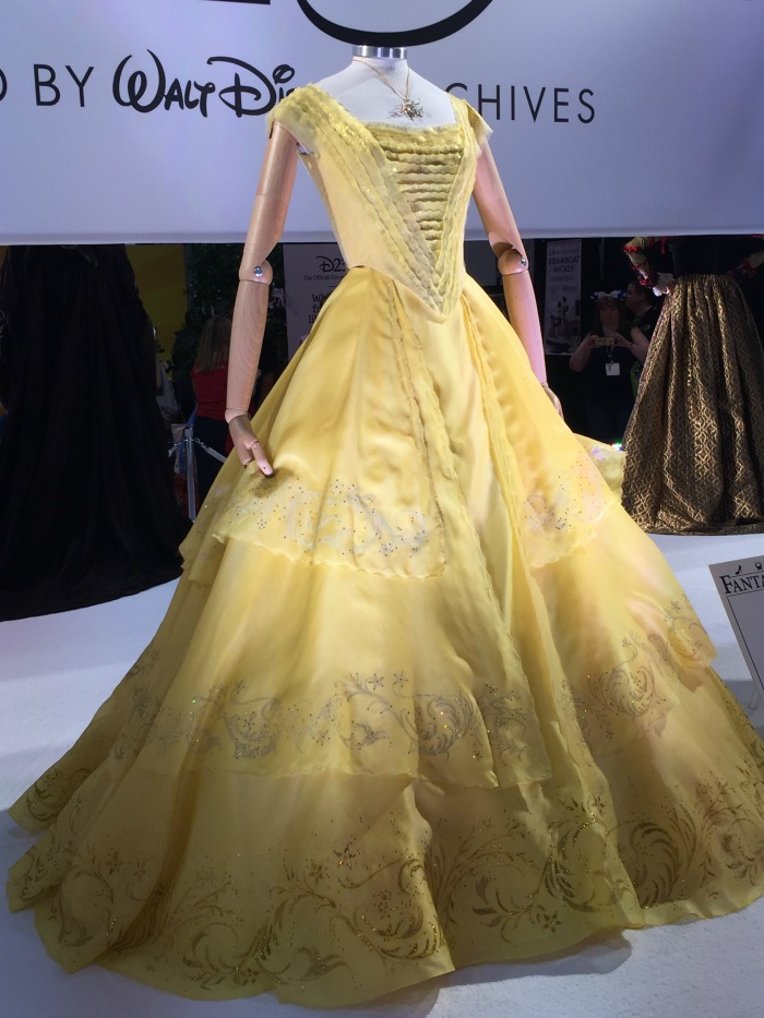 D23 Expo Walt Disney Archives Belle's Dress