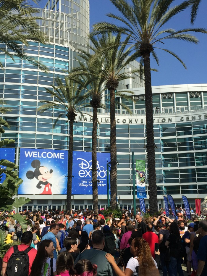 D23 Expo outside