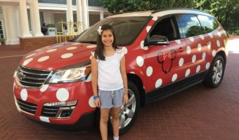 *UPDATED* Disney's Minnie Van Service – Our Experience!