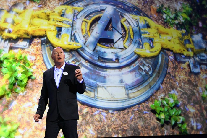 Disneyland Superhero immersion