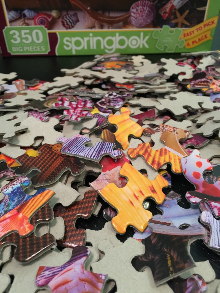 Jigsaw Puzzles during the summer