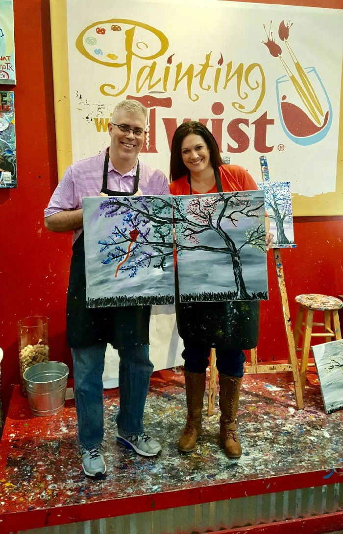 Painting with a Twist date night