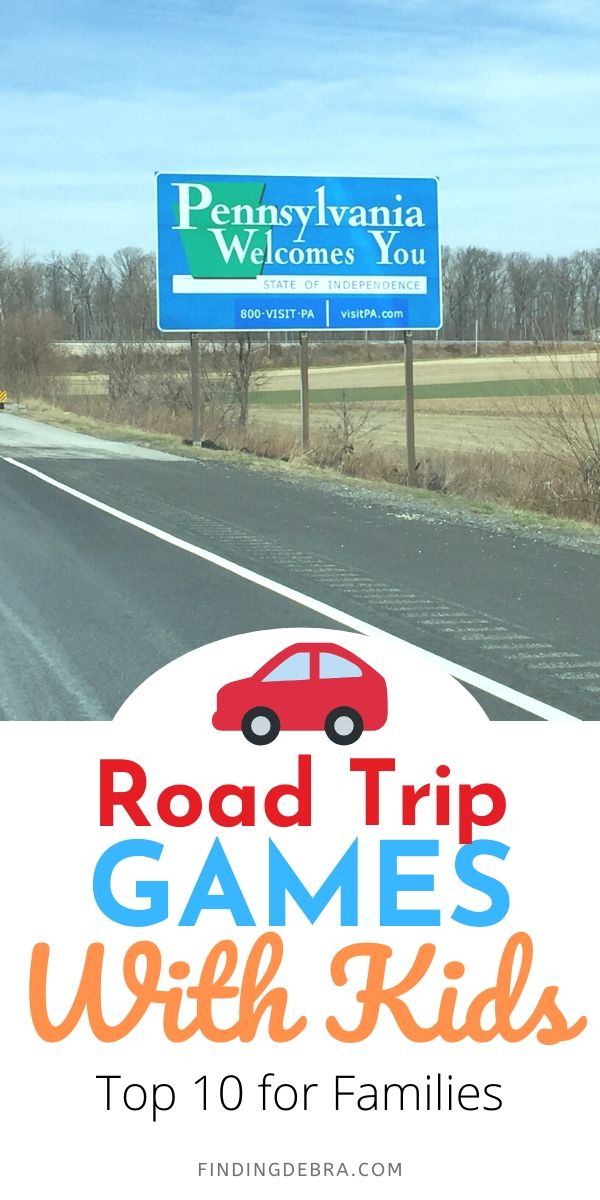 Road Trip Games with Kids