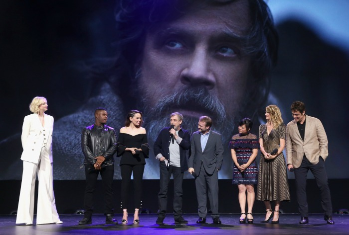 Star Wars The Last Jedi Cast
