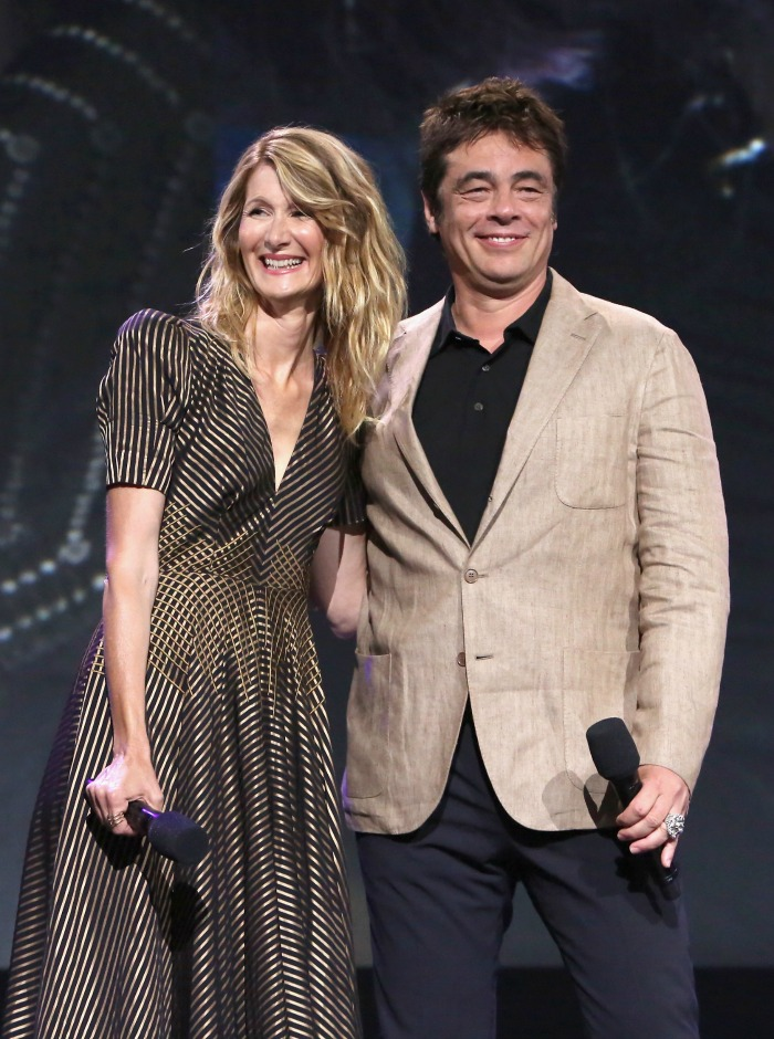 Star Wars The Last Jedi Laura Dern and Benecio del Toro