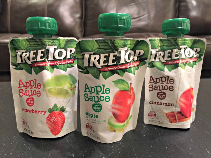 Tree Top Apple Sauce Pouch Varieties