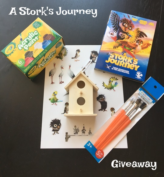 A Stork's Journey Giveaway