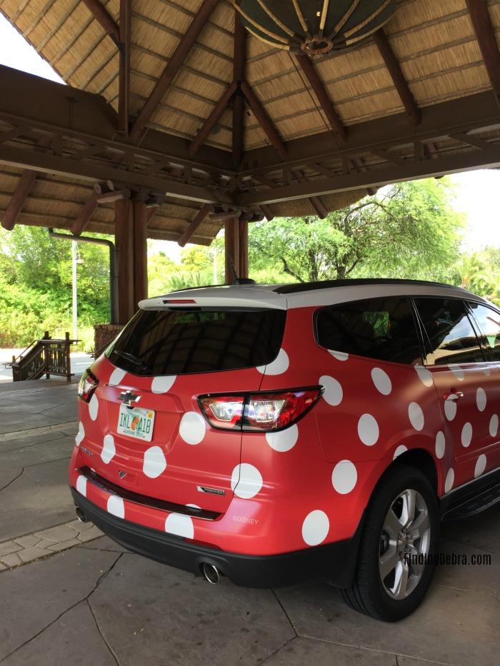 Disney Minnie Van Service