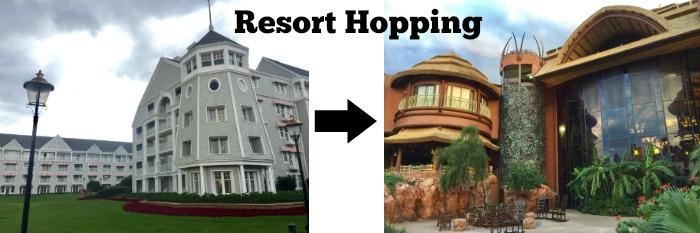 Disney Resort Hopping