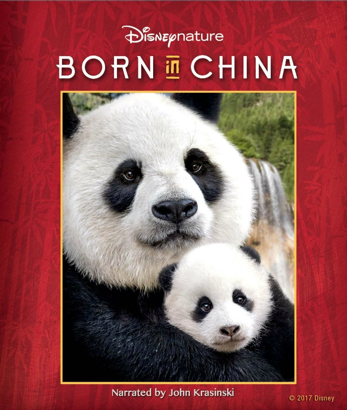 Disneynature Born in China BluRay