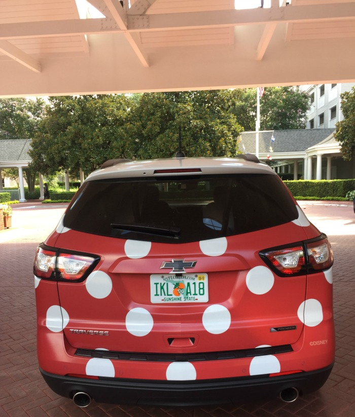 Disney's Minnie Van Chevy
