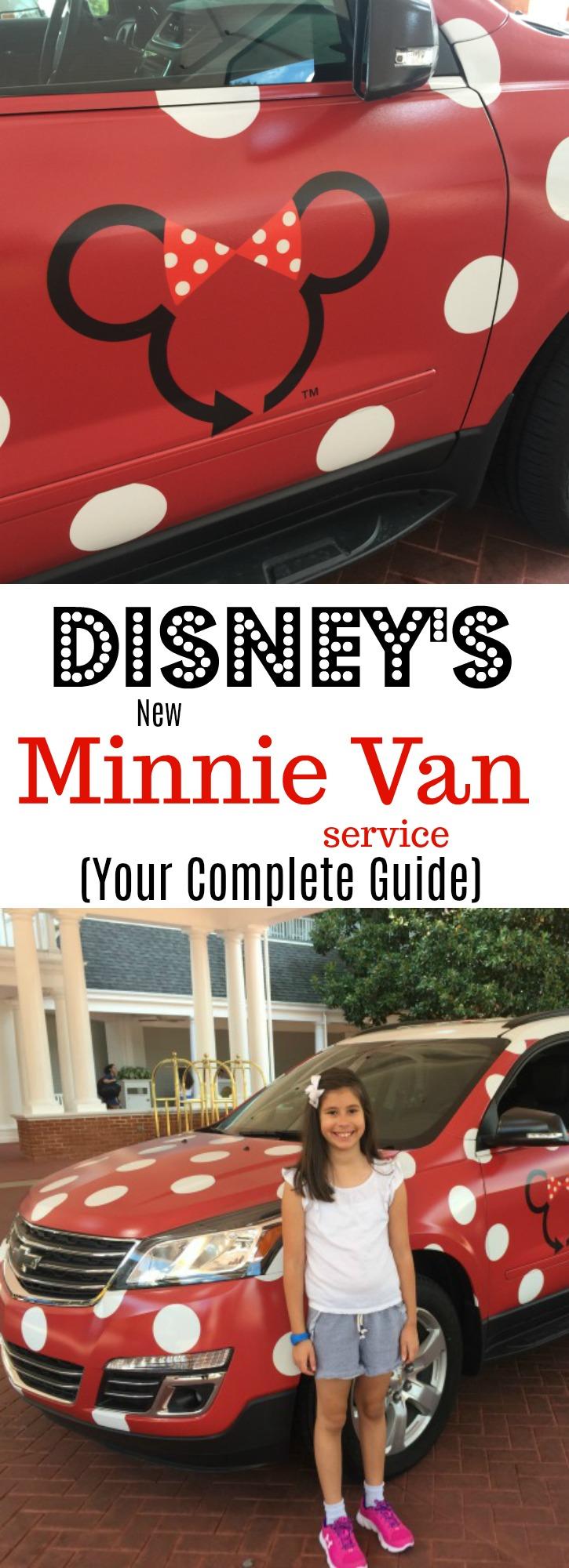 Disney's Minnie Van Service at WDW