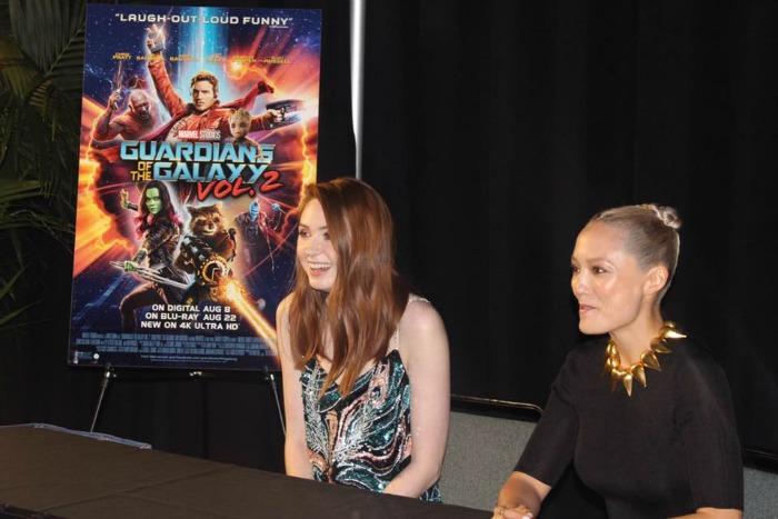 Exclusive Karen Gillan and Pom Klementieff Interview