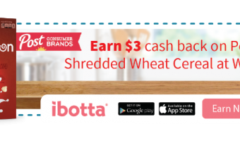 Post Shredded Wheat Cereals – Get $3 Cashback