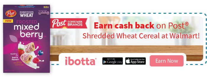 Shredded Wheat ibotta