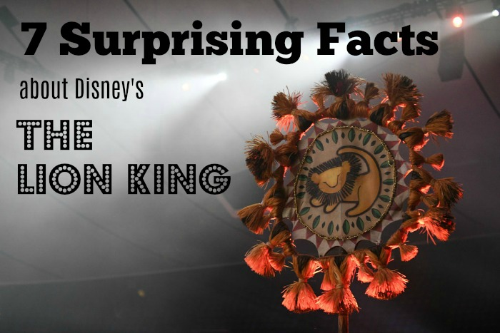 The Lion King - 7 Surprising Facts