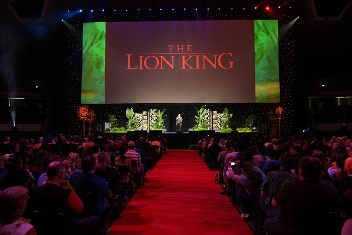 The Lion King panel D23