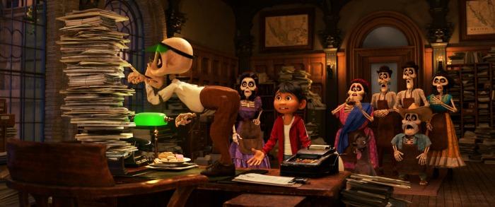 Disney Pixar Coco Scene