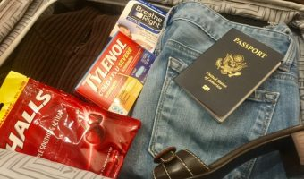 Fighting germs while traveling