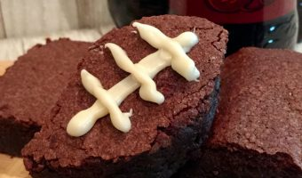 Easy Football Brownies + Dr Pepper® Fanatics Offer